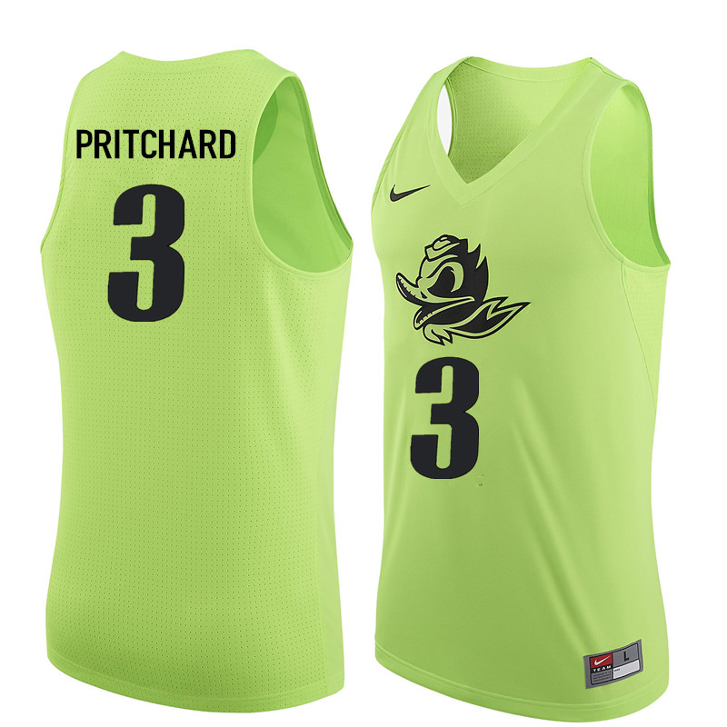Men Oregon Ducks #3 Payton Pritchard College Basketball Jerseys Sale-Electric Green